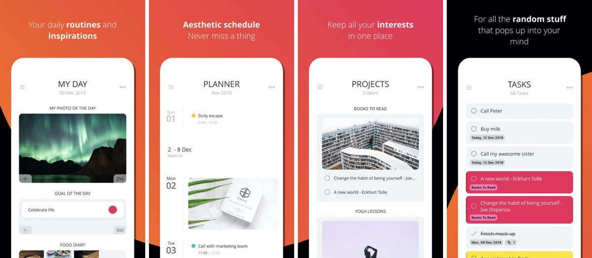 Moleskine Journey is an iOS Planner, Journal, and More