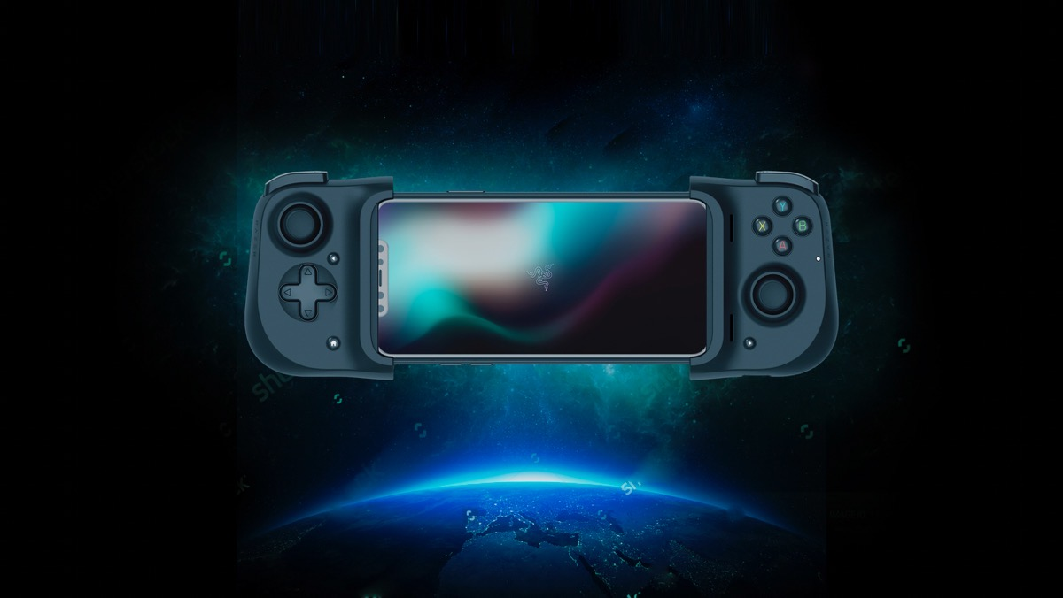 Image of Razer kishi controller