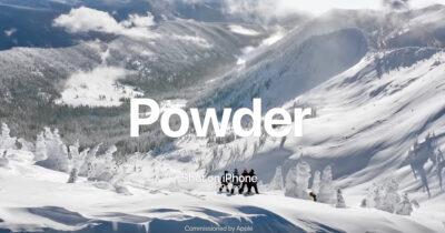 Shot iPhone Snowboard Powder