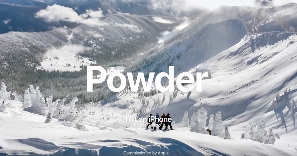 How Apple's 'Powder' Shot on iPhone Video Was Made