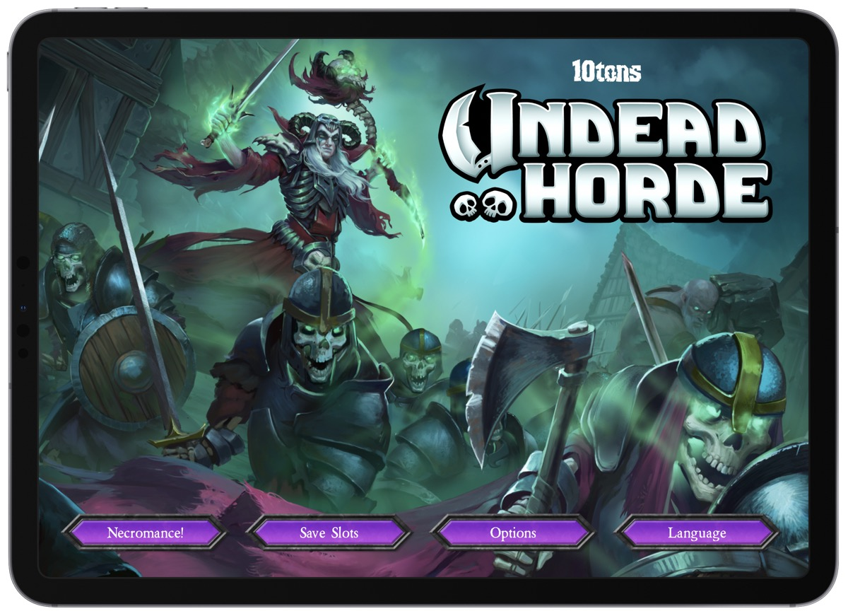 Command the 'Undead Horde' as a Necromancer
