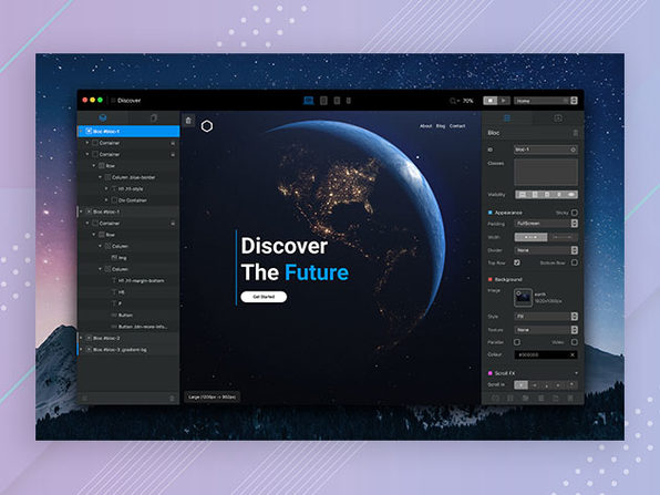 Blocs 3 Website Builder for Mac: $39.99