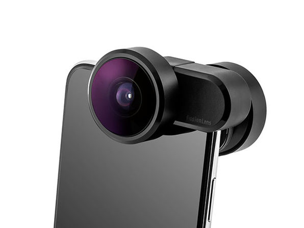 This Clip-On Lens Adds Anamorphic, 8mm Wide-Angle, Fisheye to 360° Lens to Your iPhone: $79.99