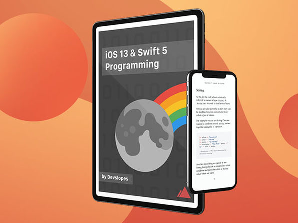 iOS 13 and Swift 5 Programming eBook: $9