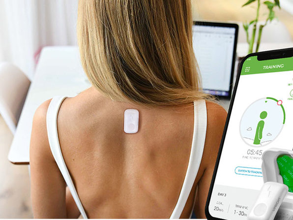 This Smart Trainer Improves Your Posture in Just 2 Weeks: $89