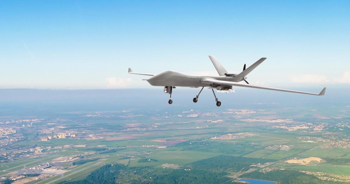 Image of UAV drone project maven