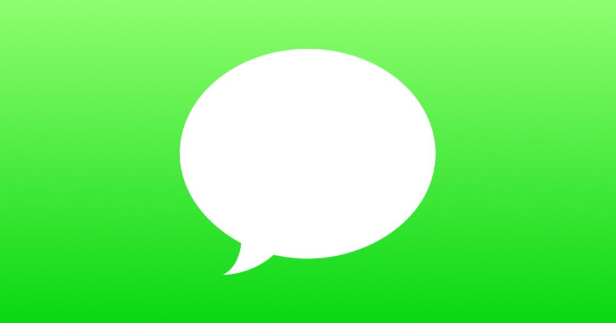 Apple messages logo