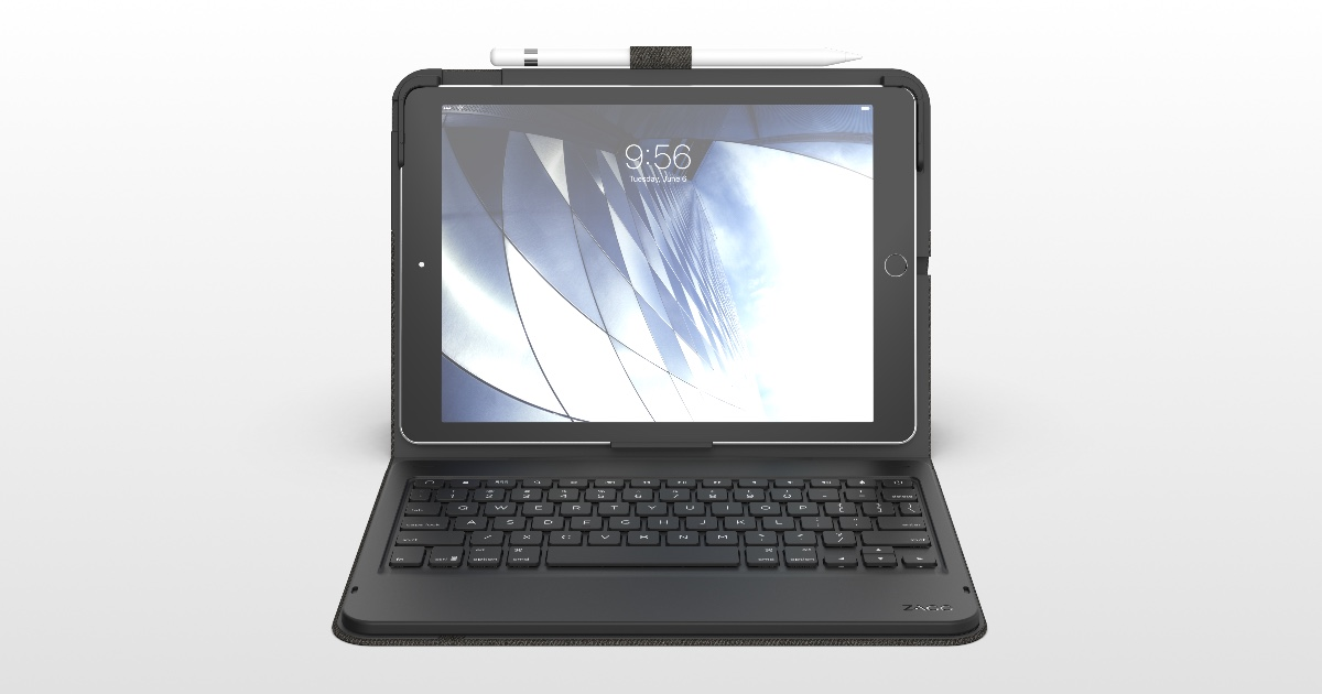 ZAGG Introduces 10.2 iPad Keyboard Case 'Messenger Folio'