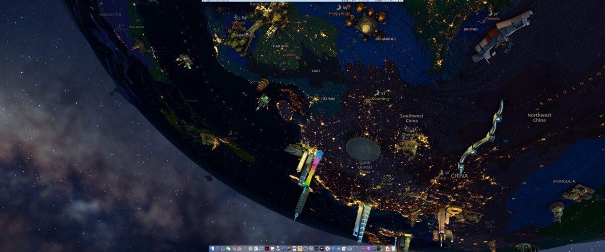 Earth 3D screenshot 1 live wallpapers