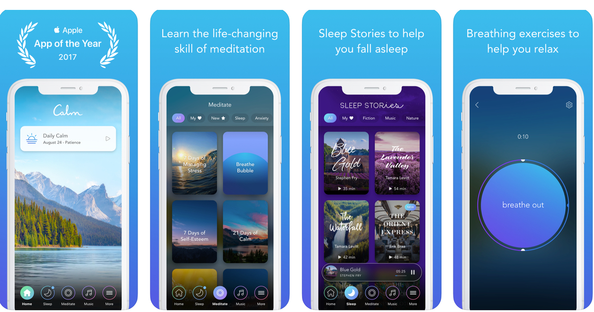 Calm – The App For Meditation, Mindfulness, And Sleep That Actually Works