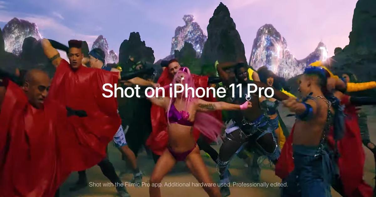 Lady Gaga Shot on iPhone