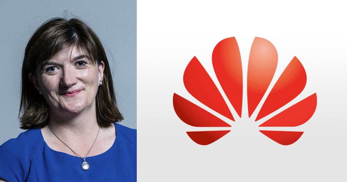 Nicky Morgan Huawei