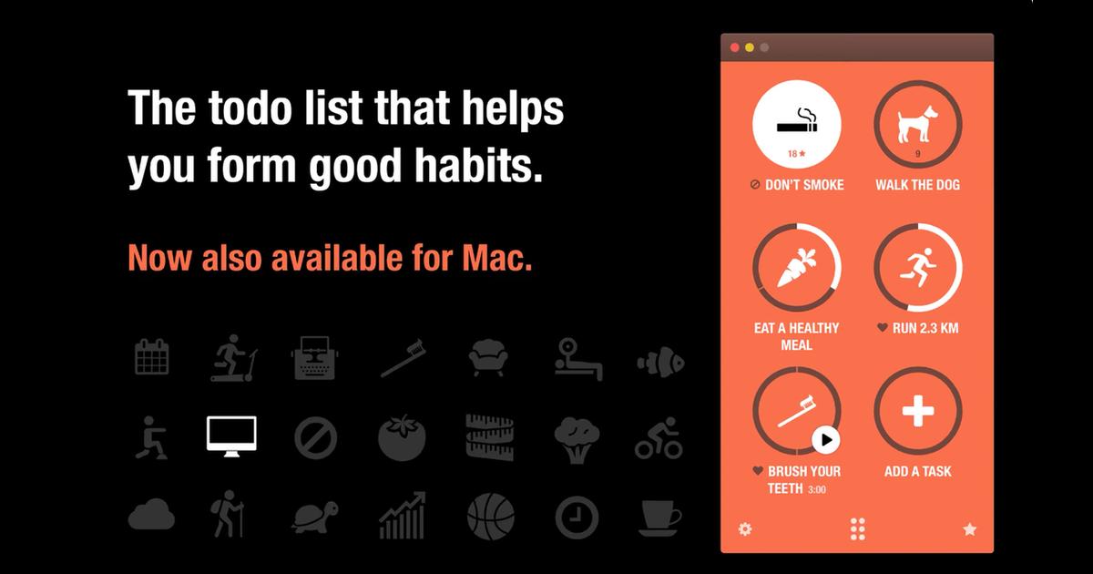 Habit-Tracking App Streaks Arrives on Mac