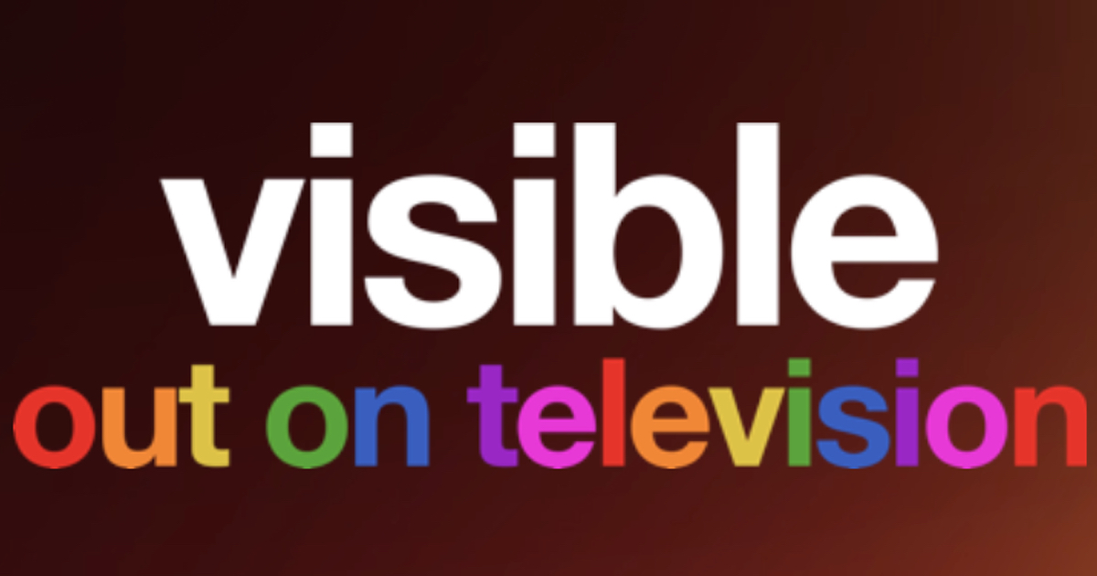 Visible - Out on Television logo