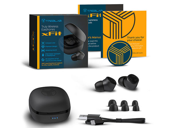 TREBLAB XFIT Bluetooth Sports Headphones: $39.99