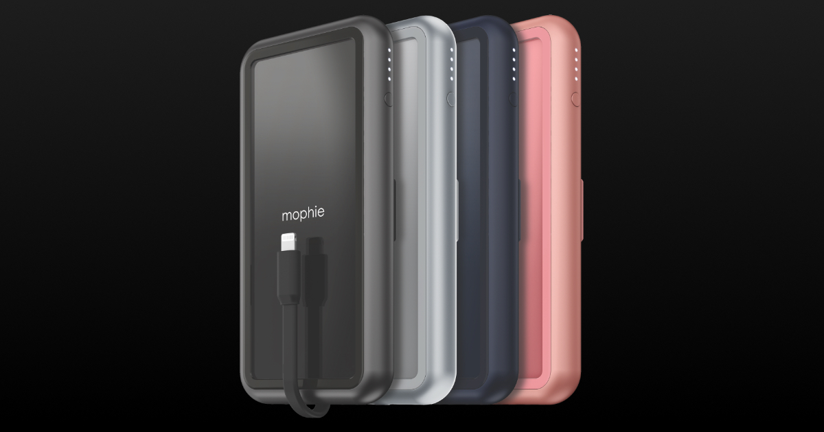 New Mophie Fast-Charge Battery Packs Available at Apple