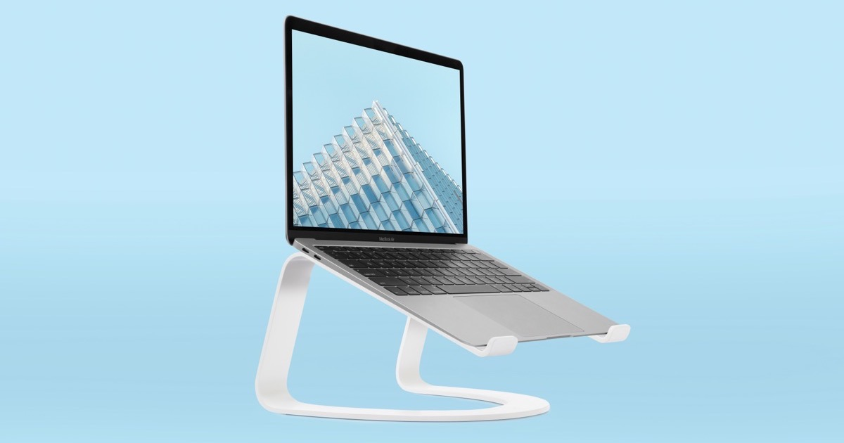 A Curved Laptop Stand is Twelve South's Newest Product