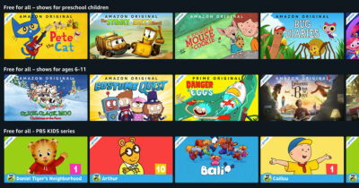 Amazon Prime Video Free For All Kids