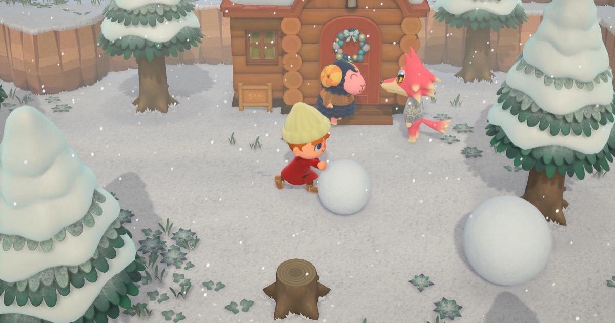 Screenshot of animal crossing new horizons