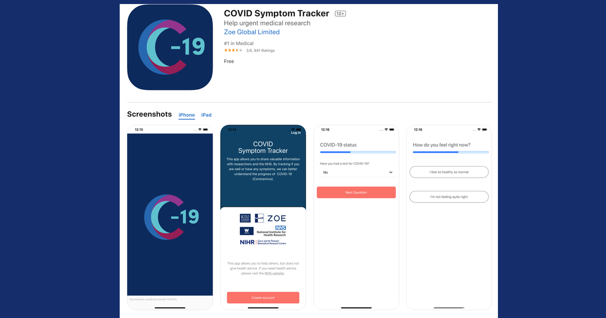 Tracking COVID-19 Symptoms Across The UK