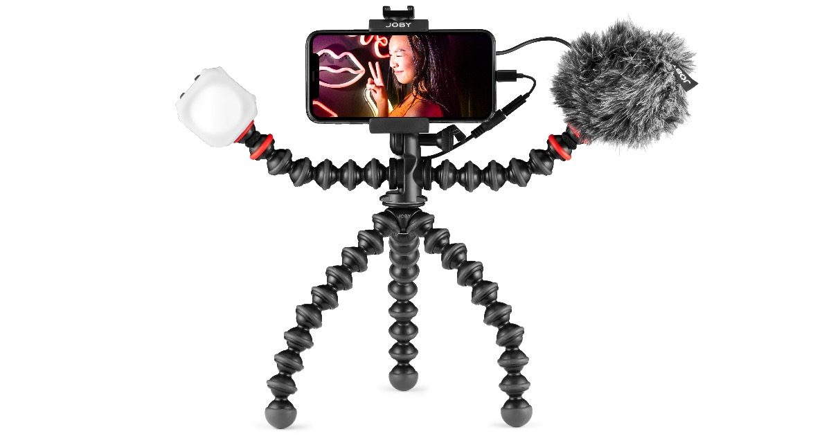 Image of GorillaPod mobile vlogging kit