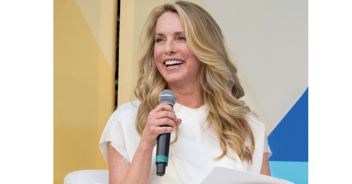 Laurene Powell Jobs speaking
