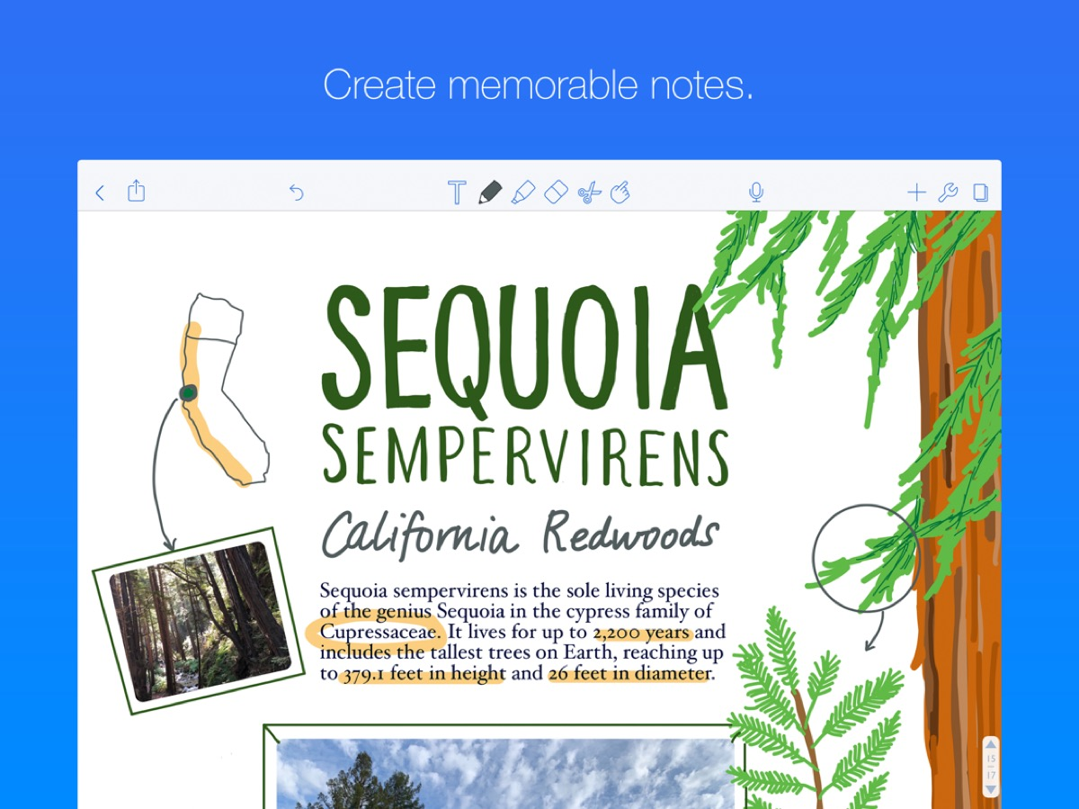 Handwriting App Notability on Sale for $3.99