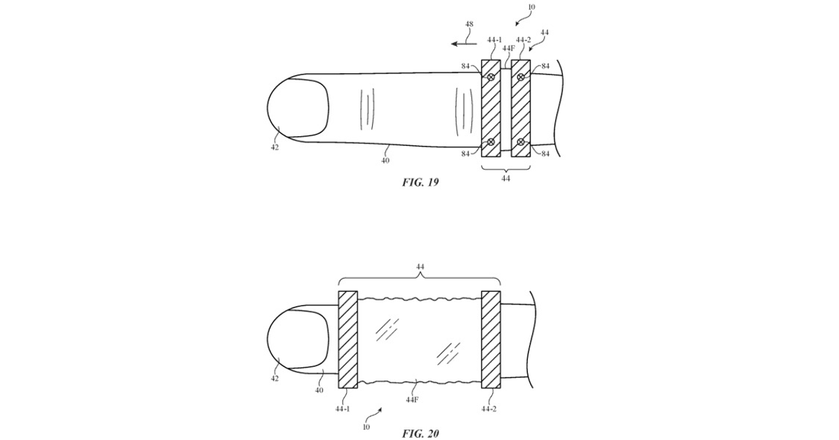 Patent for potential expandable ring.