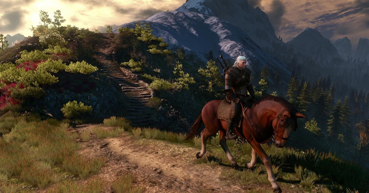 Screenshot of the Witcher 3