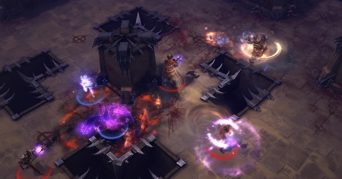 Screenshot of diablo 3