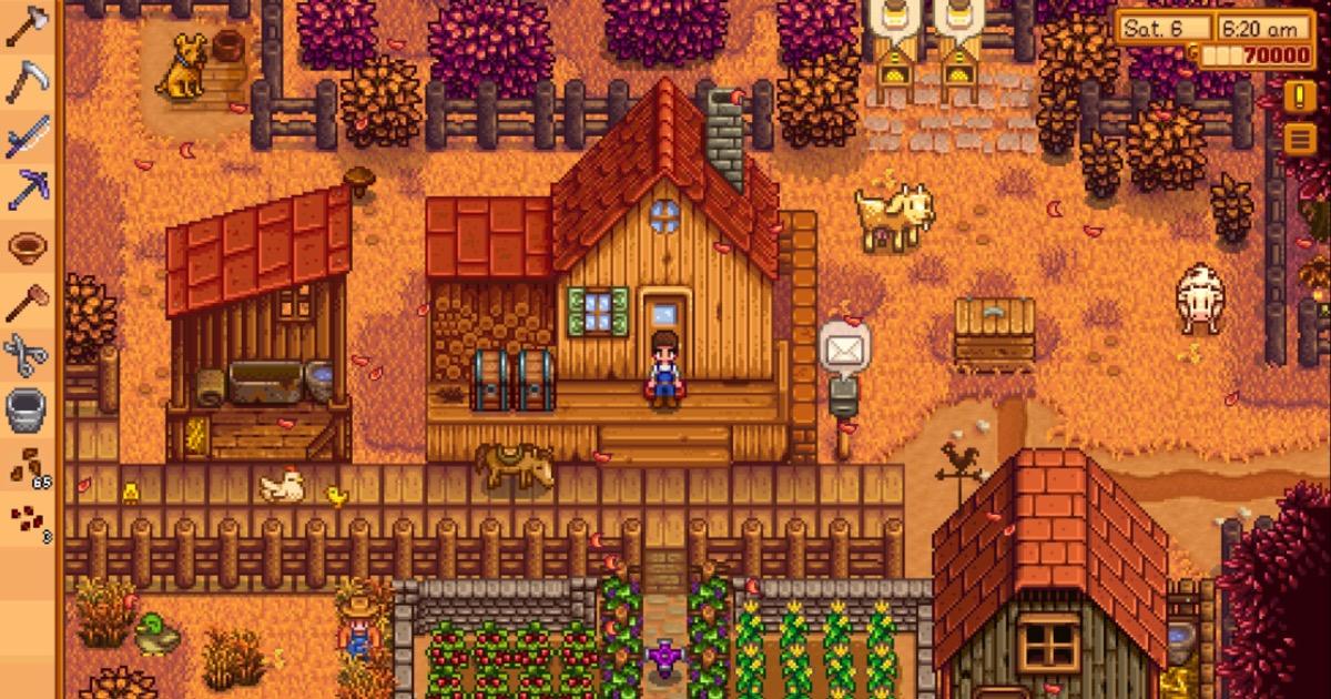 Screenshot of Stardew valley