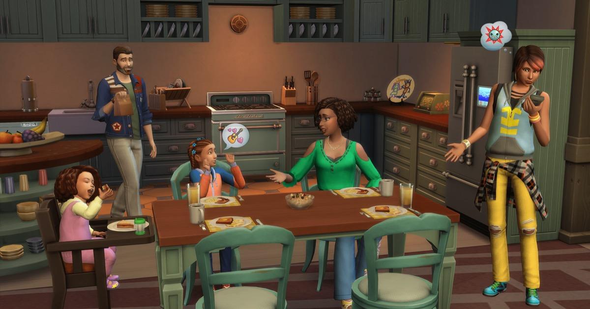 Screenshot of sims 4