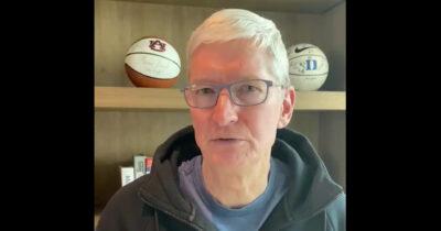 Tim Cooks says Apple has donated 10 millions masks