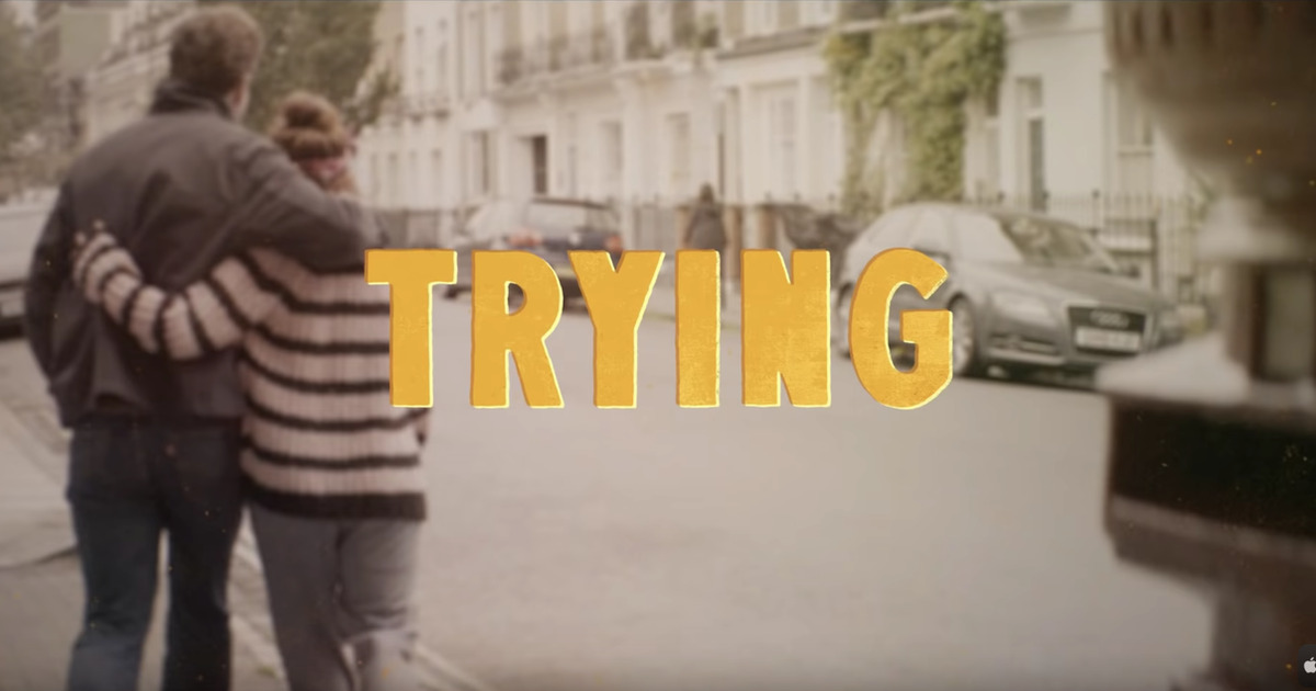 Trailer for 'Trying' on Apple TV+