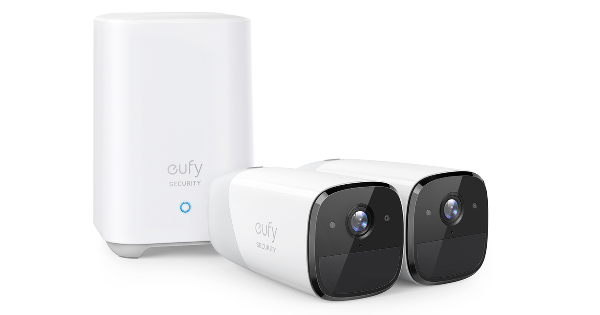 eufyCam2 with HomeKit Secure Video