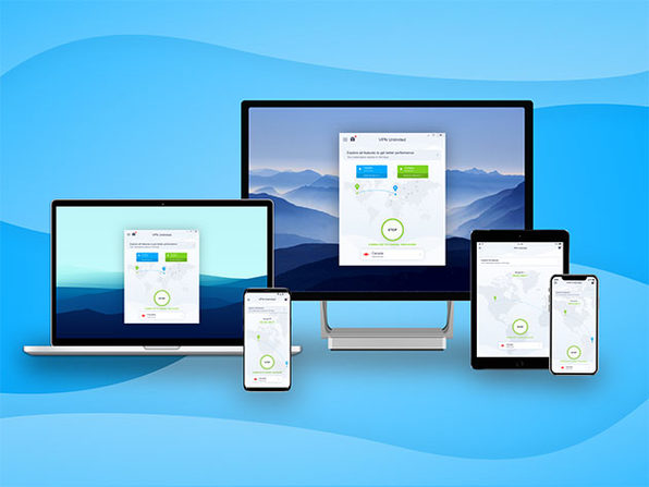 KeepSolid VPN on Mac, iPhone, PC, and Android devices