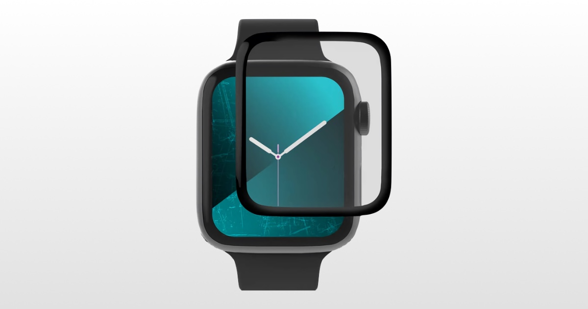 Image of GlassFusion 360 Apple Watch screen protector