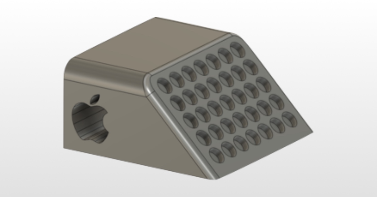 You Can 3D Print This Mac Pro Wheel Stopper