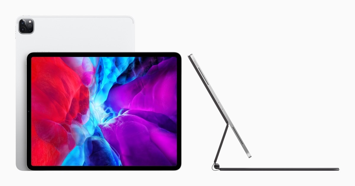 Image of iPad Pro 2020 with Magic Keyboard