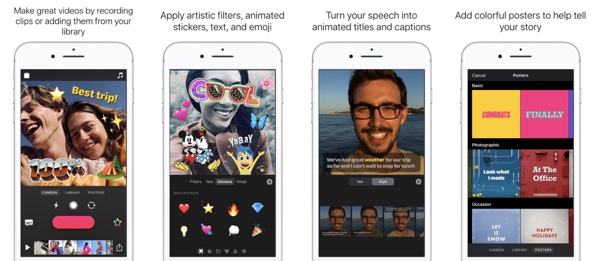 Apple's Clips App Updated to Support Mice, Trackpads