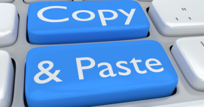 Copy and Paste on a Mac