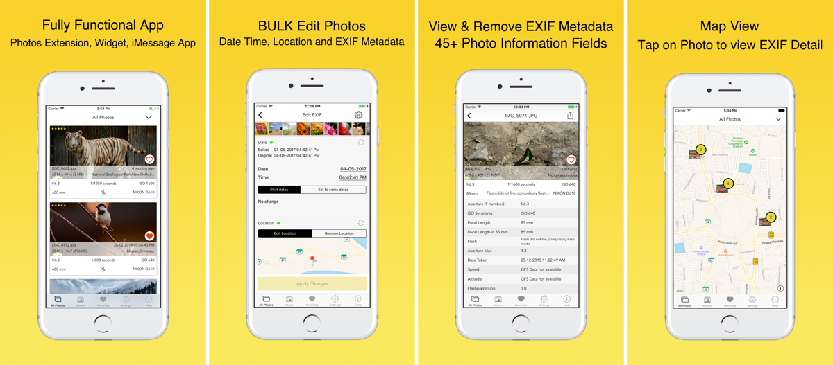 App Sale: EXIF Viewer by Fluntro is Currently Free