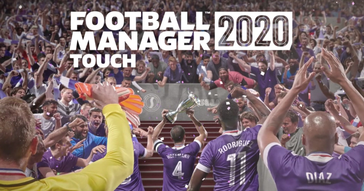 Football Manager 2020 Touch Homescreen