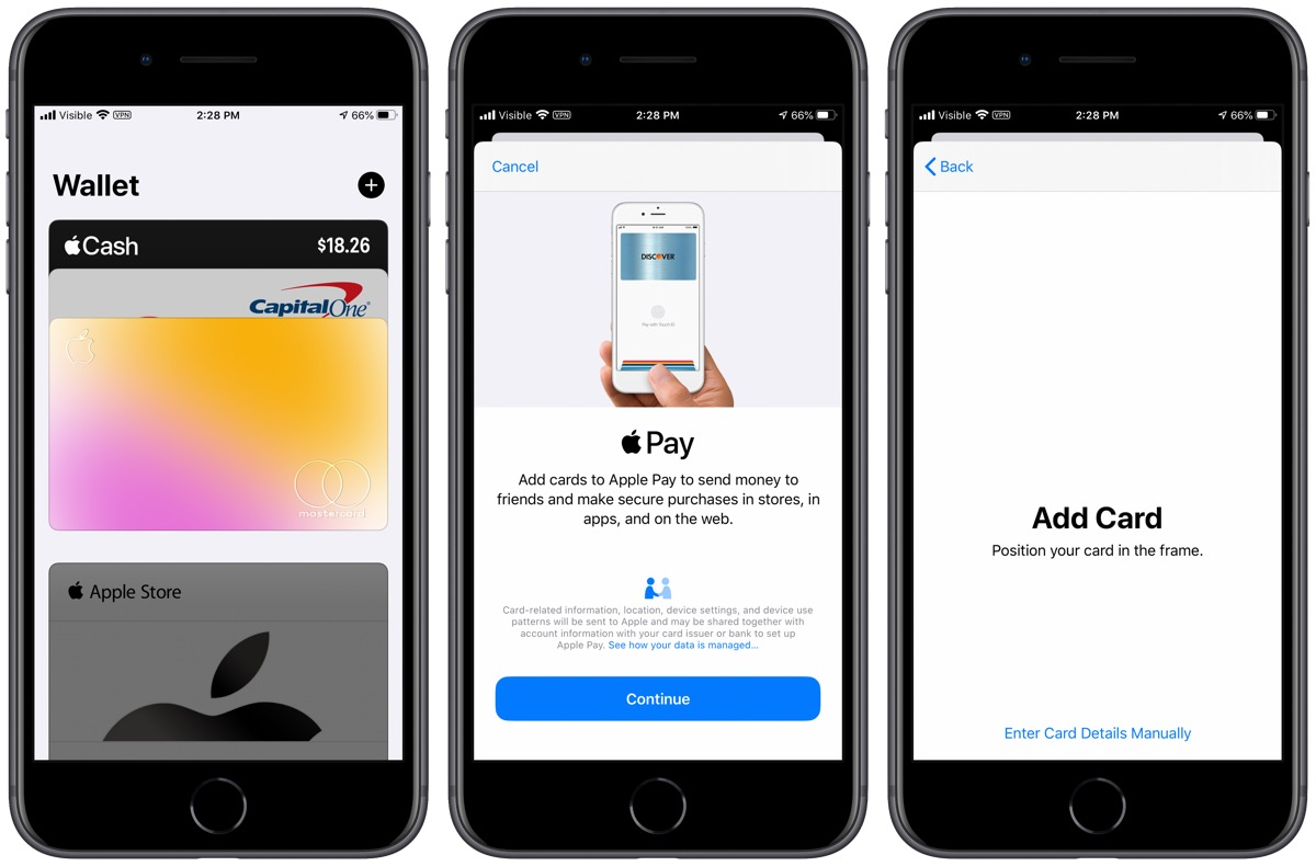 How to set up Apple Pay on iPhone.
