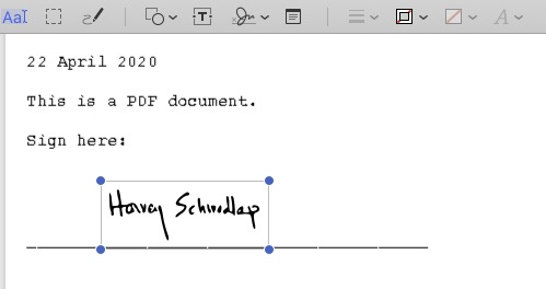 Signed doc