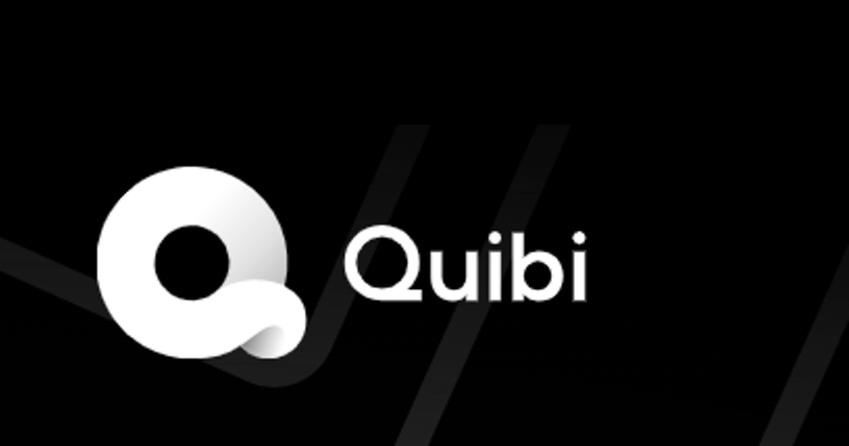 Logo for streaming service Quibi