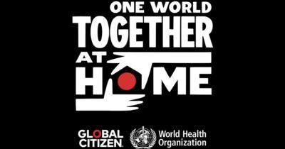 World One Together COVID-19 broadcast logo