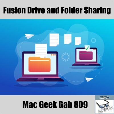 Folders Transferring between computers, Mac Geek Gab 809