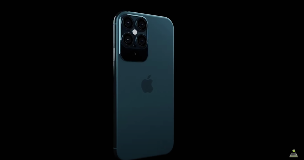 Screenshot from iPhone 12 Pro Concept video