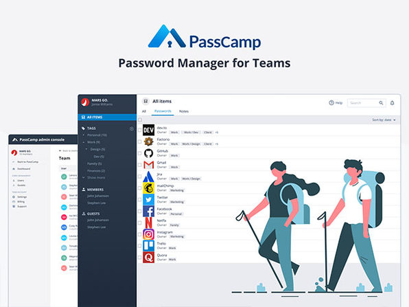 Store, Secure & Share Passwords/Logins Across Your Team with Zero-Knowledge Encryption: $29.99